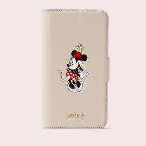kate spade minnie mouse iPhone XS Max folio case